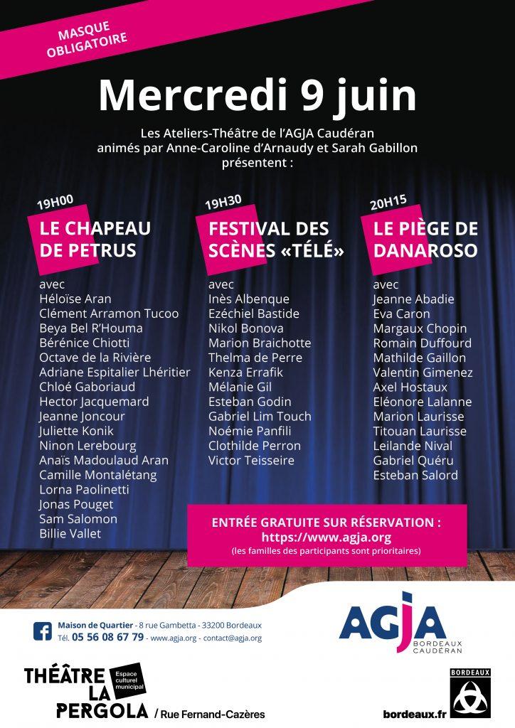 AGJA Spectacle Théâtre 2021